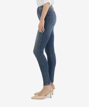 Mia High Rise Fab Ab Slim Fit Skinny, Petite (Above Wash - Eco Friendly)-New]-Kut from the Kloth