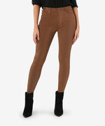 Mia High Rise Fab Ab Slim Fit Skinny (Whiskey) Main Image