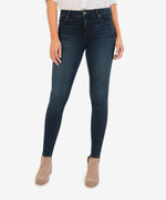 Mia High Rise Fab Ab Slim Fit Skinny (Flight Wash) Main Image