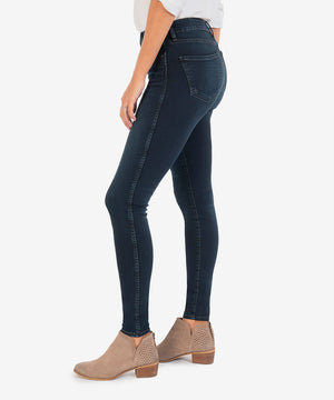 Mia High Rise Fab Ab Slim Fit Skinny (Flight Wash)-New-Kut from the Kloth