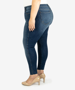 Donna High Rise Fab Ab Skinny, Plus (Remissive Wash)-New-Kut from the Kloth