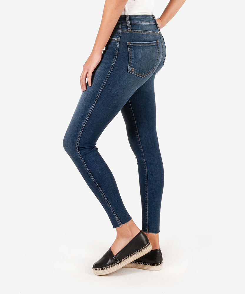 Donna Fab Ab Ankle Skinny (Remissive Wash)