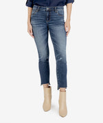 Reese Ankle Straight Leg, Petite (Glory Wash) Main Image
