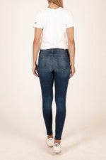 Premium Heritage Mia Fab Ab Skinny Inspired by Peace for Animals with Katie Cleary (Dark Junipero Wash) Hover Image