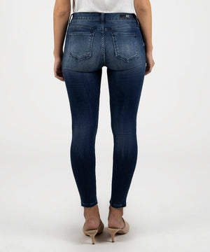 Donna Ankle Slim Fit Skinny (Daydream Wash)-Kut from the Kloth Denim