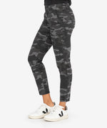 Reese Ankle Straight Leg (Black/Grey) Hover Image