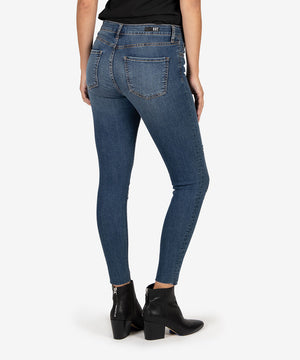 Donna High Rise Ankle Skinny (Permit Wash)-New-Kut from the Kloth