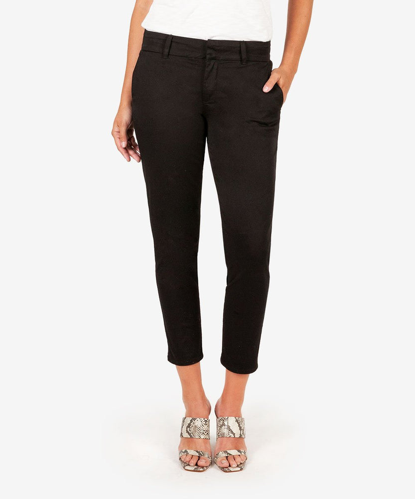 Meghan Ankle Cigarette Trouser (Black)