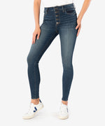 Mia High Rise Slim Fit Skinny (Goodly Wash) Main Image