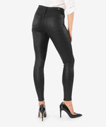 Mia High Rise Slim Fit Skinny (Black) Hover Image