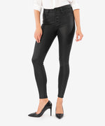 Mia High Rise Slim Fit Skinny (Black) Main Image