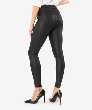 Mia High Rise Slim Fit Skinny (Black)-New-Kut from the Kloth