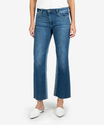 Kelsey High Rise Ankle Flare, Long Inseam (Overtake Wash) Main Image