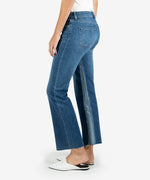 Kelsey High Rise Ankle Flare, Long Inseam (Overtake Wash) Hover Image