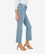 Kelsey High Rise Ankle Flare (Dignified Wash) Hover Image