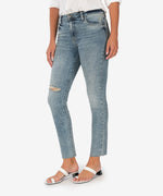 Reese High Rise Ankle Straight Leg, Exclusive (Bronx Wash) Main Image