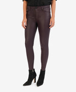 Connie High Rise Slim Fit Ankle Skinny (Acai) Main Image