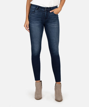 Connie High Rise Slim Fit Ankle Skinny (Seed Wash)-New-Kut from the Kloth