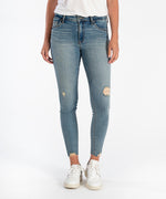 Connie High Rise Ankle Skinny (Willpower Wash) Main Image