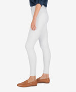 Connie High Rise Slim Fit Ankle Skinny (Optic White) Hover Image