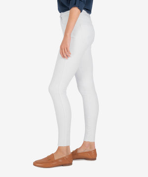 Connie High Rise Slim Fit Ankle Skinny (Optic White)-New-Kut from the Kloth