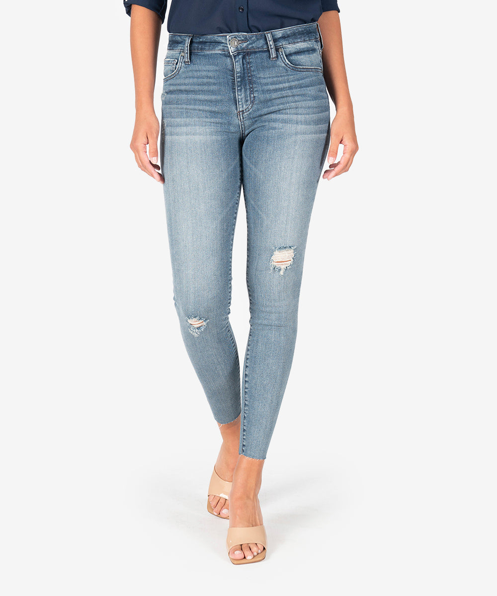 Connie High Rise Slim Fit Ankle Skinny (Family Wash)