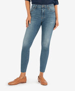Connie High Rise Ankle Skinny (Eco Friendly - Evolution Wash) Main Image