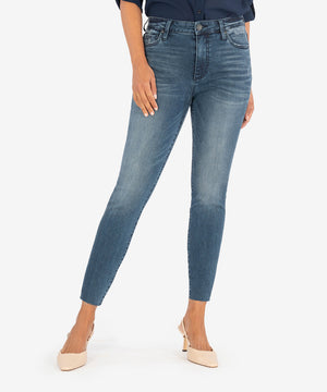 Connie High Rise Ankle Skinny (Erudite Wash)