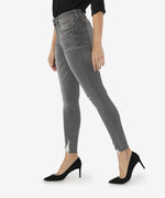 Connie High Rise Slim Fit Ankle Skinny, Petite (Eco-Friendly Braver Wash) Hover Image