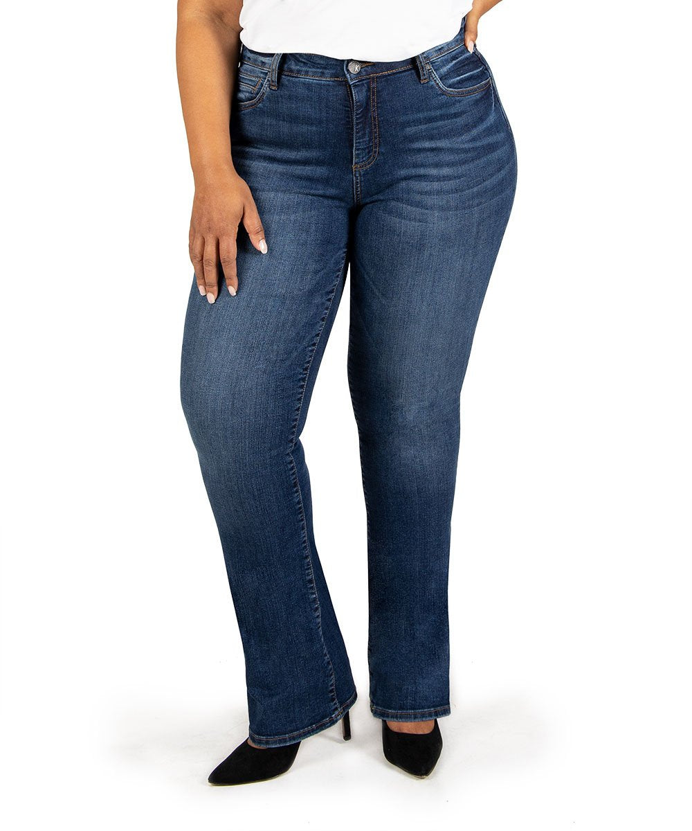 Natalie High Rise Bootcut, Plus (Search Wash)
