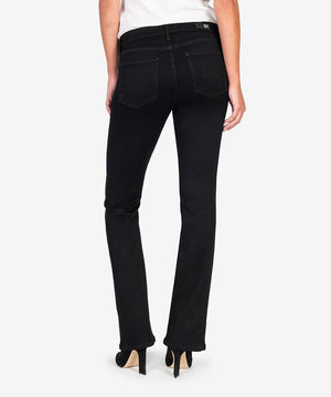 Natalie Bootcut, Exclusive (Black Caviar Denim)-New-Kut from the Kloth