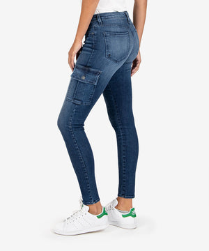 Mia Slim Fit Skinny (Adept Wash)-New-Kut from the Kloth