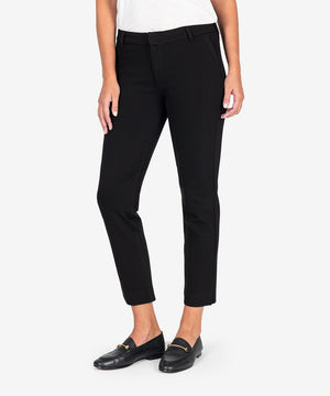 Elizabeth Ponte Straight Leg (Black)-New-Kut from the Kloth