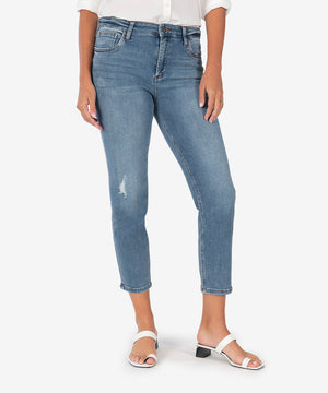 Rachael Mom Jean, Exclusive (Research Wash)-New-Kut from the Kloth