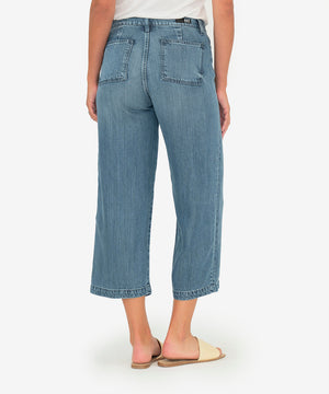 Sandra Crop Straight Leg (Physical Wash)-New-Kut from the Kloth
