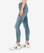 Connie High Rise Slim Fit Ankle Skinny (Fully Wash) Hover Image