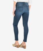 Connie High Rise Fab Ab Slim Fit Ankle Skinny (Hello Wash) Hover Image