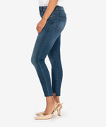 Connie High Rise Ankle Skinny (Wellbeing Wash) Hover Image