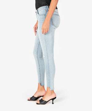 Connie Slim Fit Ankle Skinny (Blast Wash)-New-Kut from the Kloth
