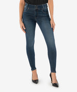 Mia High Rise Slim Fit Skinny (Daring Wash) Main Image