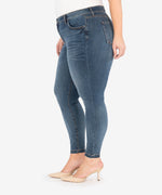 Donna High Rise Ankle Skinny, Plus (Aster Wash) Hover Image