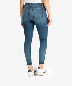 Donna High Rise Ankle Skinny (Aster Wash)-New-Kut from the Kloth