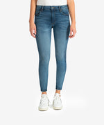 Donna High Rise Ankle Skinny, Petite (Aster Wash) Main Image