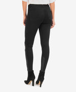 Donna High Rise Ankle Skinny (Black) Hover Image