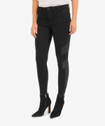 Donna High Rise Ankle Skinny (Black) Main Image