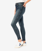 Donna High Rise Fab Ab Ankle Skinny (Eco Friendly - Bright Wash) Hover Image