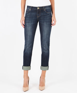 Catherine Boyfriend (Royal Wash)-Denim-0-Kut from the Kloth