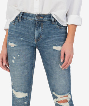 Catherine High Rise Fab Ab Boyfriend (Lucidity Wash)