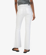 Stella  High Rise Fab Ab Flare (Optic White) Hover Image
