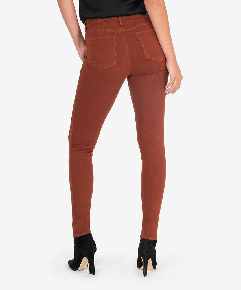 Mia Slim Fit Skinny, Exclusive (Rustic Brown)-Kut from the Kloth